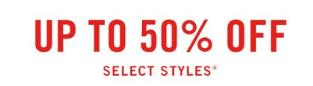 Up to 50% Off Select Styles from Abercrombie & Fitch