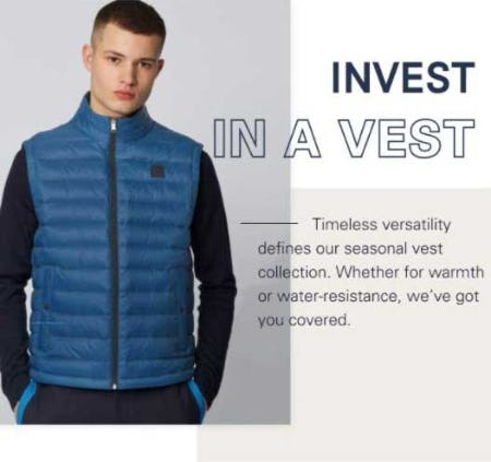 Simply the Vest from Boss Hugo Boss