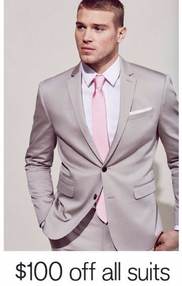 $100 Off All Suits
