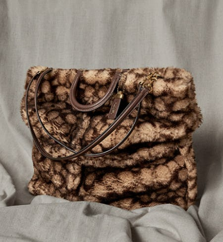 Fall Bags Are In from Coach