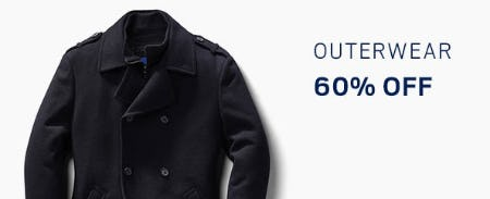 Outerwear 60% Off from Men's Wearhouse