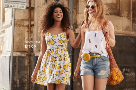 Fresh Squeeze of Summer from H&M