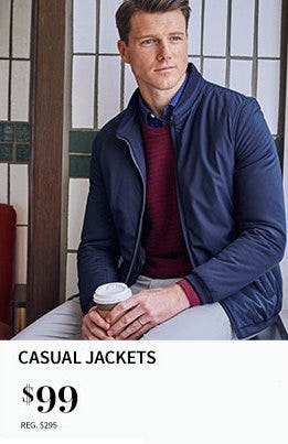 Casual Jackets $99 from Jos. A. Bank