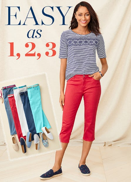 The Denim Pants from Talbots