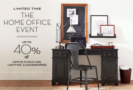 Up To 40% Off The Home Office Event