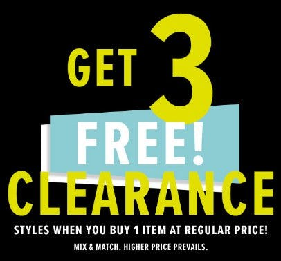 55cbc8ad8fbf Get 3 Free Clearance Styles at New York & Company   Baybrook Mall
