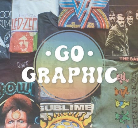 New In: Graphic Tees from Earthbound Trading Company