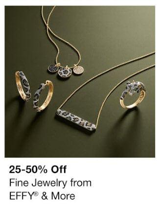 25-50% Off Fine Jewelry
