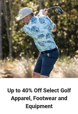 Up to 40% Off Select Golf Apparel, Footwear & Equipment from Dick's Sporting Goods