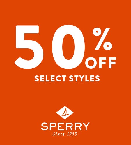 Up-to 50% OFF on Sneakers, Boat Shoes & Sandals from Sperry Top-Sider