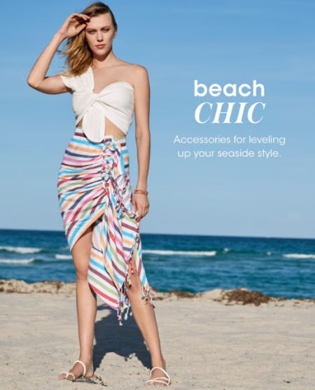 An Epic Beach Look from Bloomingdale's