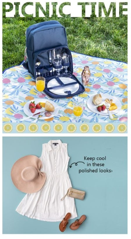 Picnic Essentials for the Perfect Staycation from Von Maur