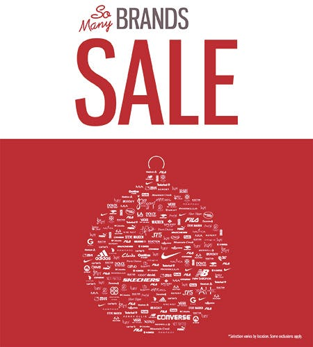 So Many Brands Sale! from SHOE DEPT. ENCORE
