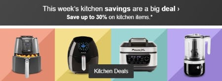 Save Up to 30% on Kitchen Items from Target