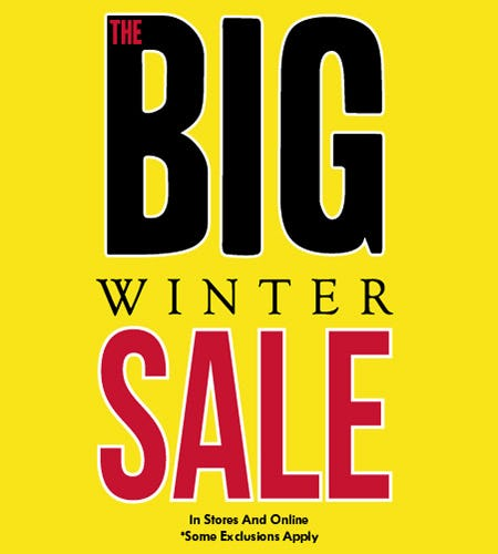 The BIG Winter Sale!