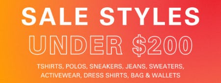 Sale Styles Under $200 from Boss