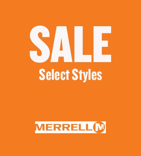 SALE - Select Styles from Merrell