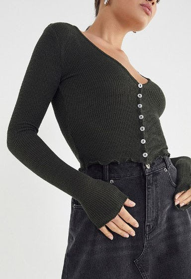 Out From Under Benny Long Sleeve Top from Urban Outfitters