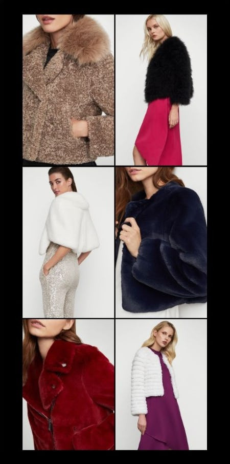 Luxe Outerwear Obsessions from BCBG