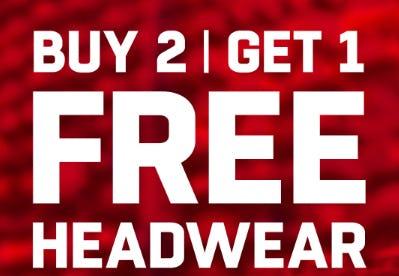 B2G1 Free Headwear from Lids