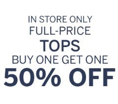 Full-Price Tops Buy One, Get One 50% Off from Dressbarn