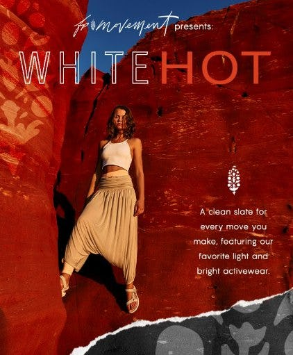 The Color of the Season: White Hot