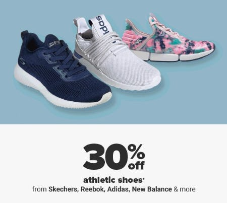 30% Off Athletic Shoes from Belk