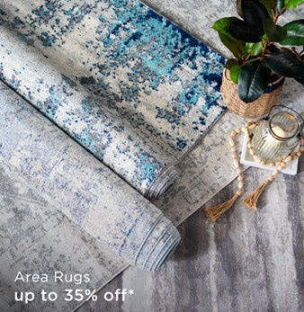 Area Rugs Up to 35% Off