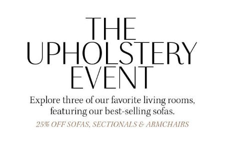 25% Off The Upholstery Event from Pottery Barn