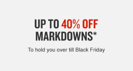 Up to 40% Off Markdowns from Finish Line