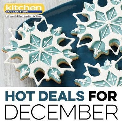 December_Kitchen Collection 2018 Promotions from Kitchen Collection