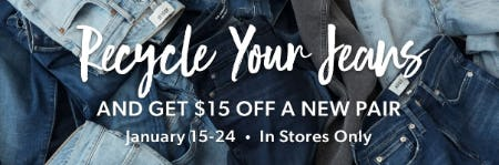 $15 Off a New Pair from Evereve
