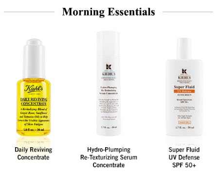 Morning Essentials