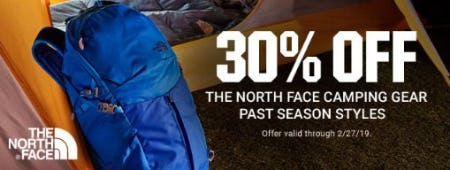 30% Off The North Face Camping Gear from Dick's Sporting Goods