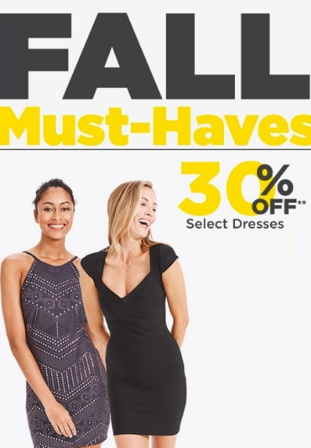 30% Off Select Dresses from Lord & Taylor