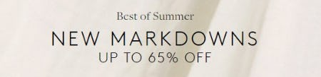 New Markdowns up to 65% Off from Club Monaco