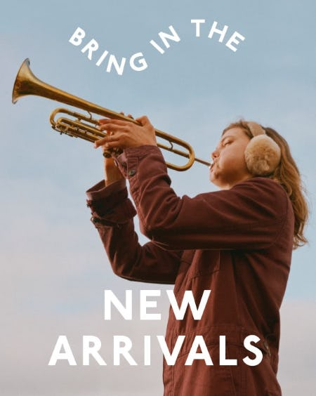 Bring In The New Arrivals from Madewell