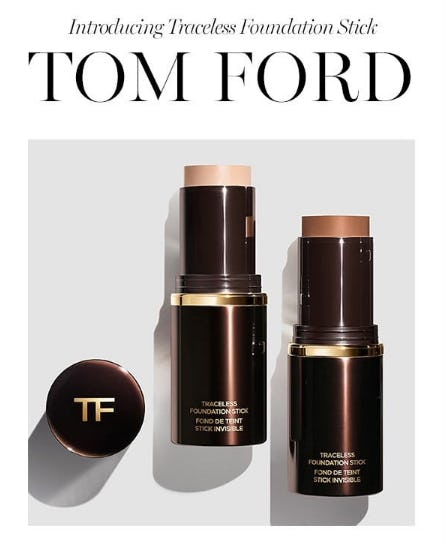 Introducing the Traceless Foundation Stick from Tom Ford from Saks Fifth Avenue