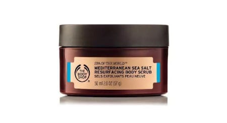 Spa Of The World Mediterranean Sea Salt Scrub from The Body Shop