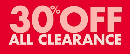 30% Off All Clearance from Sally Beauty Supply