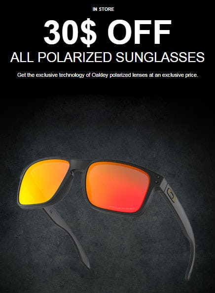 5e044ee910864 30  Off All Polarized Sunglasses from Oakley