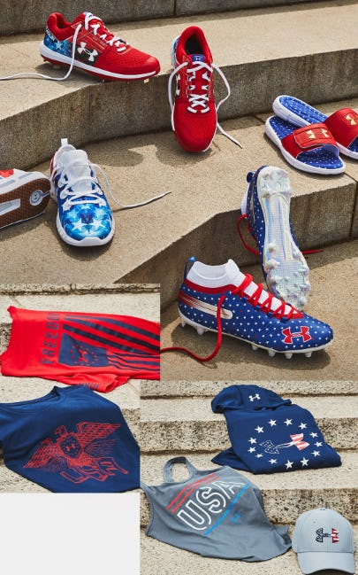 UA Stars & Stripes Collection from Under Armour