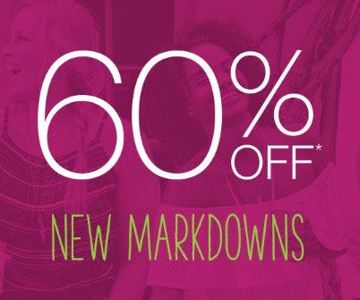 60% Off New Markdowns from maurices
