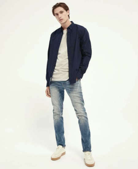Laid Back Denim from Scotch & Soda