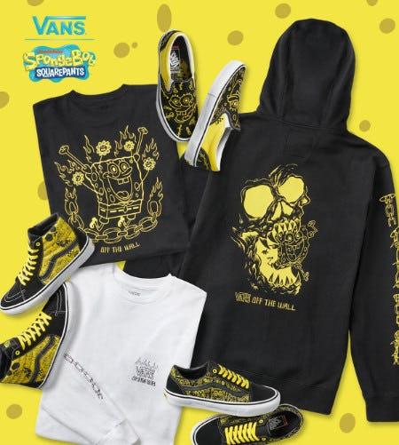 New: Vans x SpongeBob SquarePants