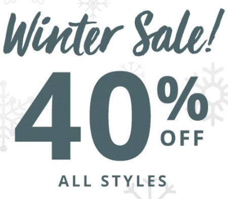 Winter Sale 40% Off from Payless ShoeSource