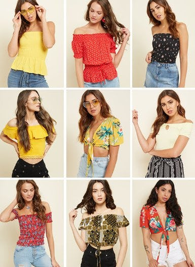 Shop All New Tops
