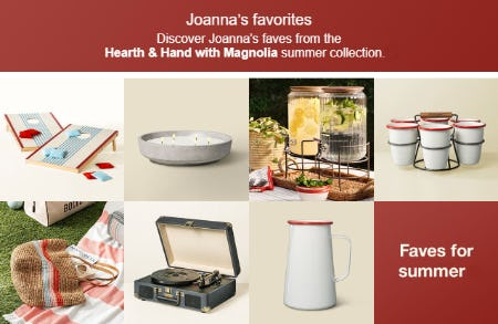 Discover Joanna's Favorites from Target
