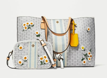 The Gemini Link in Spring Flowers from Tory Burch