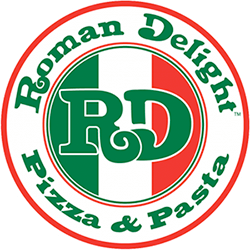 Roman Delight Pizza                      Logo